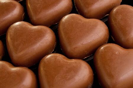 corazones de amor: Amo el chocolate corazones un gran regalo del d�a de San Valent�n