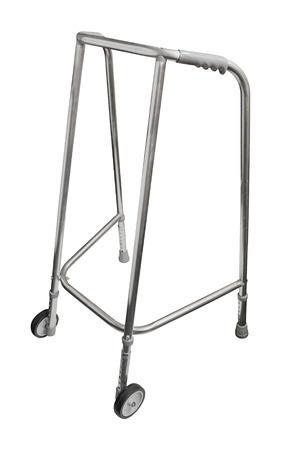 terapia ocupacional: Ruedas andador utilizado por personas mayores elederly y recuperación de los pacientes para ayudar a la movilidad.