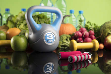 Diet and Fitness Banque d'images