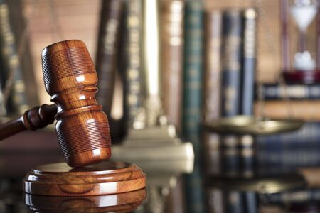 Legal system. Law and justice concept. Stock Photo