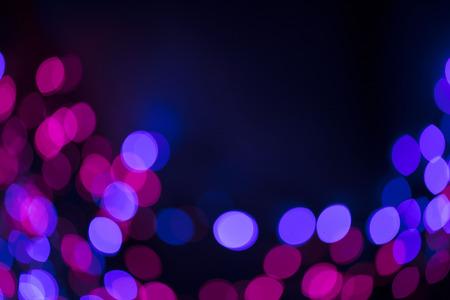 Abstract bokeh. Casino lights.