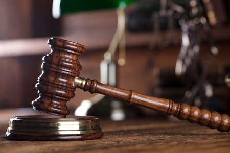 scale of justice: Legal system. Law and justice concept. Stock Photo