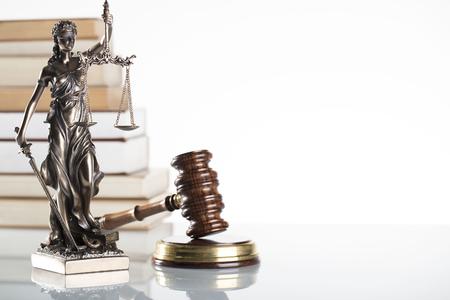 Law symbols isolated.