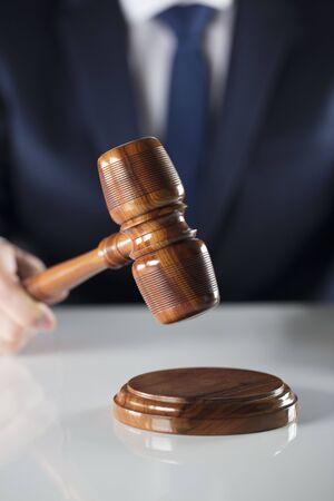 Court executive oficer during judicial sale.