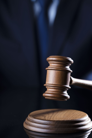 Gavel. Attorney concept.