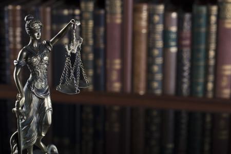 법원 도서관 à ¢ â, ¬ â € œ 법정과 책의 동상.