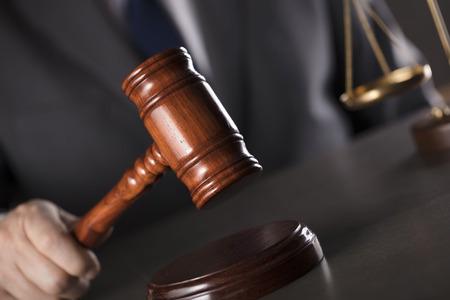 Advocaat. Juridisch advies kantoor. Stockfoto