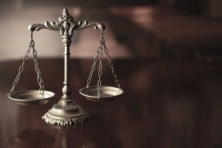 Scale – symbol of law and justice.