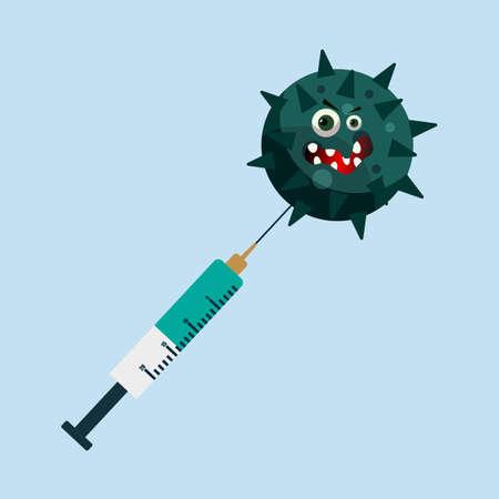 virus themed vector work