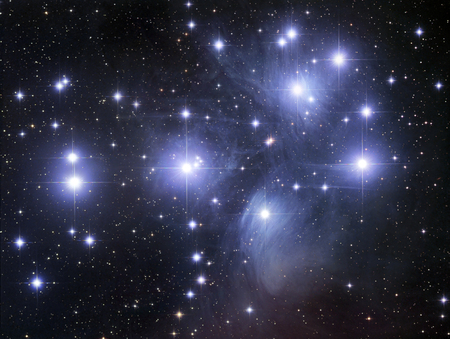 the pleiades: The Pleiades LANG_EVOIMAGES