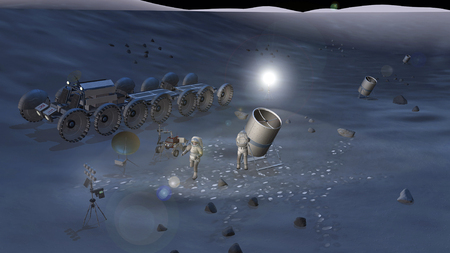 A concept of possible activities during future space exploration missions LANG_EVOIMAGES