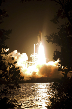 spaceport: Space Shuttle Endeavour liftoff