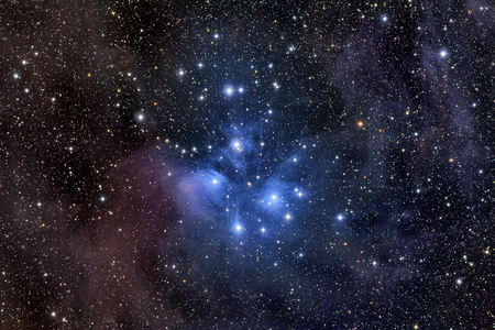 the pleiades: The Pleiades,also known as the Seven Sisters LANG_EVOIMAGES