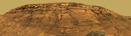 View of Burns Cliff on Mars