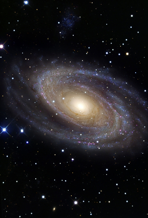 messier: Messier 81,a spiral galaxy in the constellation Ursa Major