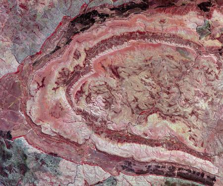 rock formation: Spider Crater,Western Australia