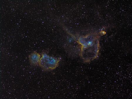 ic: The Heart and Soul Nebulae