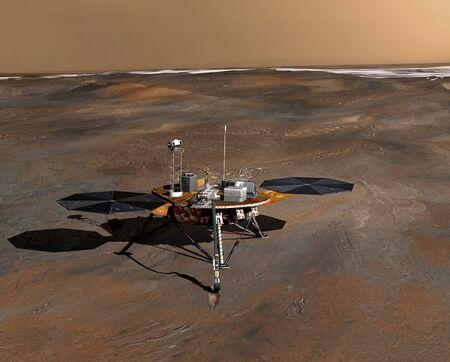 Phoenix Mars Lander LANG_EVOIMAGES