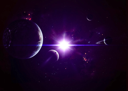 beings: Though jovian planets may be composed of gases and ices, the dozens of moons around them may be all the solid ground necessary to spawn intelligent beings.