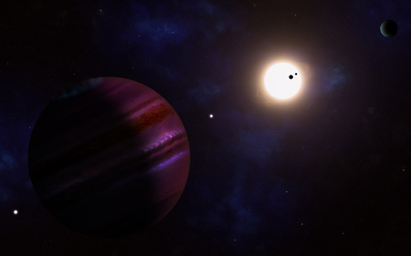 comparable: Kepler 11 has been discovered to host a solar system of at least six planets with comparable sizes to the Earth. This high number makes the solar system unique among the ones discovered so far. The planets are extremely close to each other, and all are mo