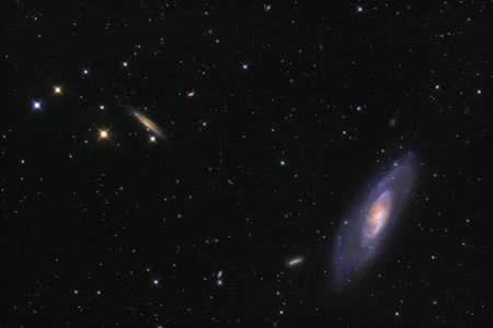 Spiral galaxy Messier 106