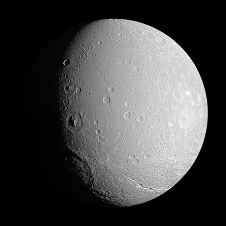 dione: Saturns moon Dione LANG_EVOIMAGES