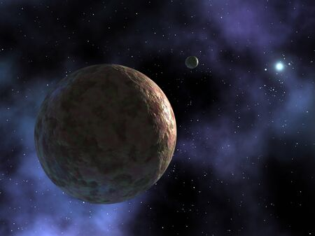 resides: The newly discovered planet-like object,dubbed Sedna,is shown where it resides at the outer edges of the known solar system