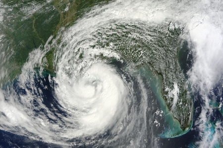 August 28, 2012 - Hurricane Isaac in the Gulf of Mexico. LANG_EVOIMAGES