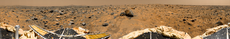 elysium: Panoramic view of Mars