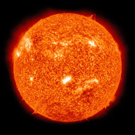 prominence: February 14, 2011 - Solar activity on the Sun. An X-class solar flare erupts from the suns active region. X-flares are the strongest type of solar flare.