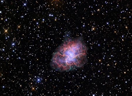 messier: The Crab Nebula