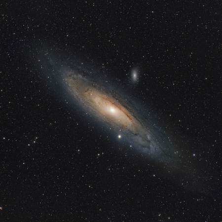 messier: M31, The Andromeda Galaxy.