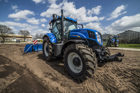 agricultural machinery on the rural landscape and new\ technologies