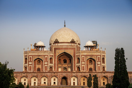 humayun tomb famous monument in india Standard-Bild