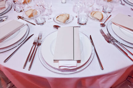 banqueting: galleries with classic equipment for banqueting and catering