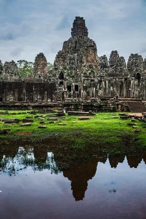 cambodge: Angkor thom the most famous landmark of cambodia