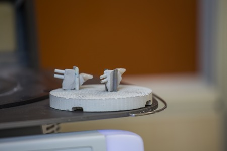 articulator: oven and press for ceramic dental prostheses, in action