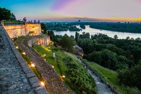 view of the city of blegrado in serbia Reklamní fotografie