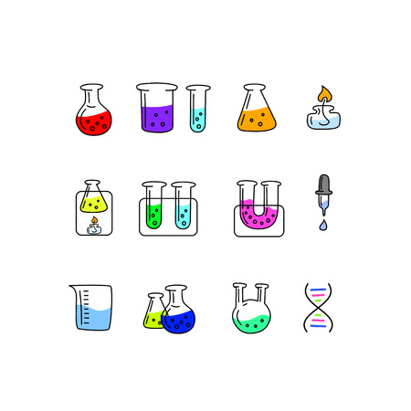 Great designed chemistry icons