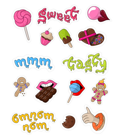 Great designed sweet stickers
