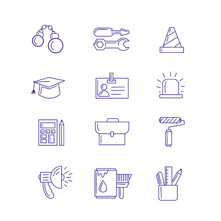 great: Great designed work icons