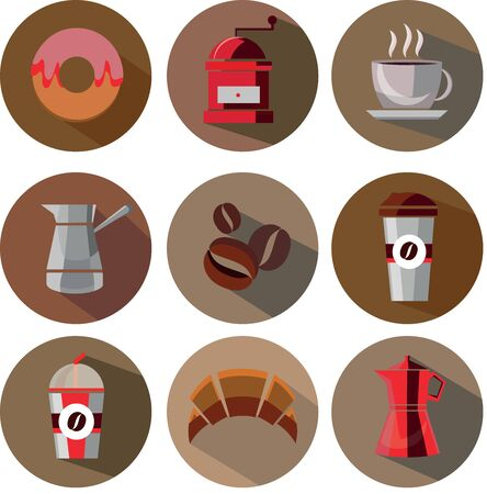great coffee: Great designed coffee vectors that can be used in various templates