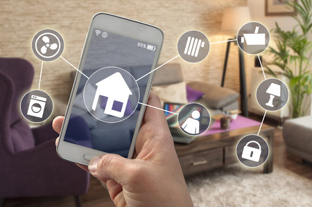 Smarthome control with the smartphone