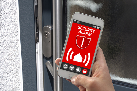Smartphone with smarthome control app