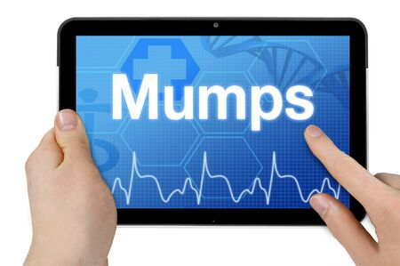Tablet computer with mumps