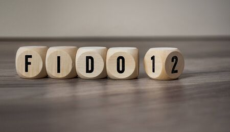 Cubes and dice with fido 1 and 2 standard - Fast IDentity Online