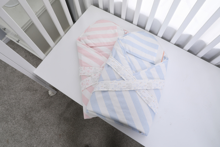 childs bed and clothes
