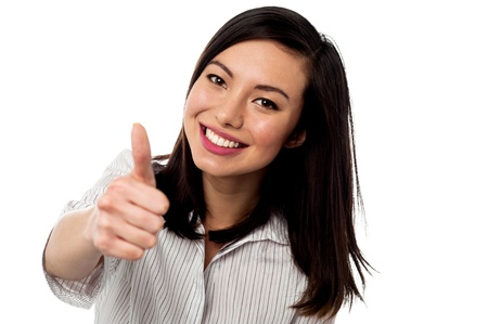 yup: Keep up the great work. Our business team loves you Stock Photo