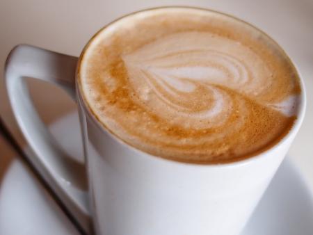 brewed: Cafe mocha, freshly brewed.