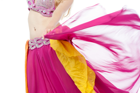 belly dance: Cropped image of a woman performing belly dance